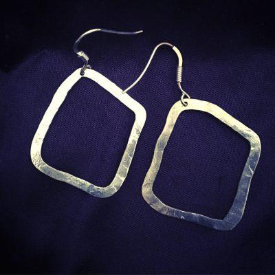 00172 Boucles d'oreilles argent 925