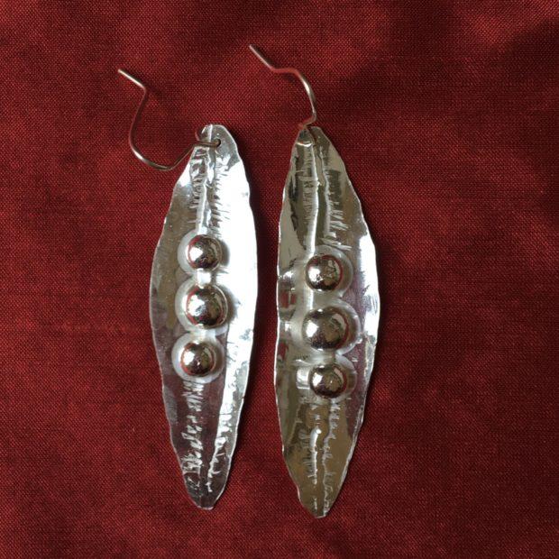 470 Boucles d'oreilles argent 925